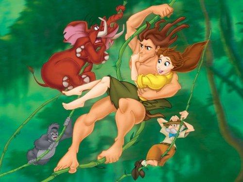 Tarzan वॉलपेपर
