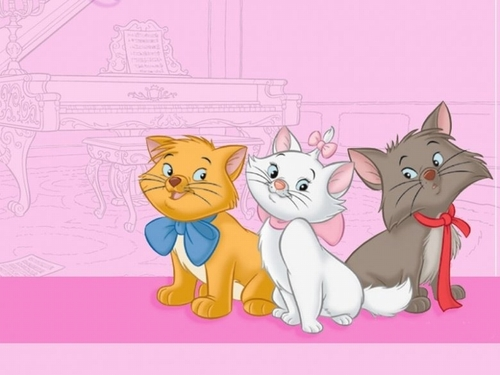 The Aristocats kertas dinding