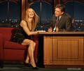 The Late Late show with Craig Ferguson  - poppy-montgomery screencap