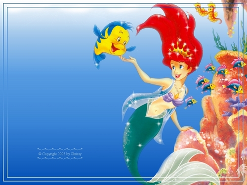 The Little Mermaid wallpaper possibly containing anime titled The Little Mermaid Wallpaper