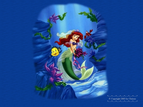 The Little Mermaid Hintergrund