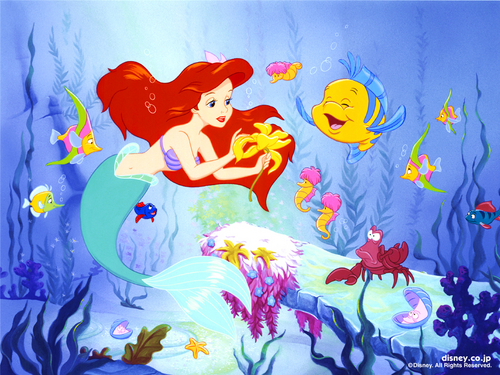 The Little Mermaid wallpaper