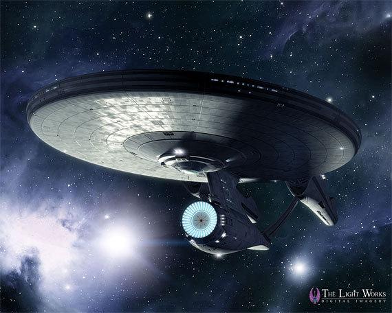 Star trek ships