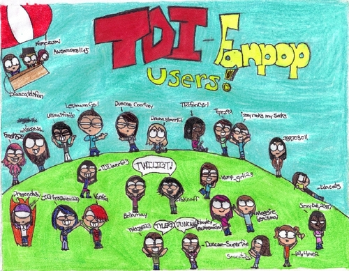 The final TDI- ফ্যানপপ users drawing!