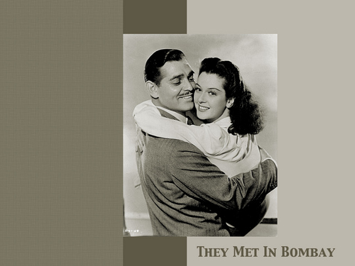 Clark Gable wallpaper titled They Met In Bombay (1941)