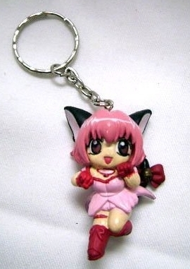 Tokyo Mew Mew - rosa Ichigo Keychain
