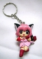 Tokyo Mew Mew - Pink Ichigo Keychain - keychains photo