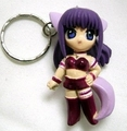 Tokyo Mew Mew - Purple Zakuro Keychain - keychains photo