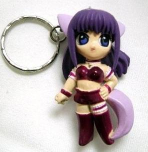 Tokyo Mew Mew - Purple Zakuro Keychain