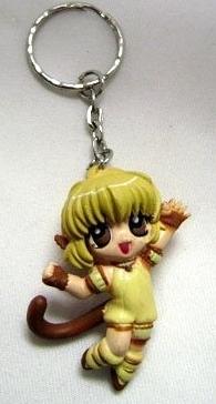 Tokyo Mew Mew - Yellow пудинг Keychain