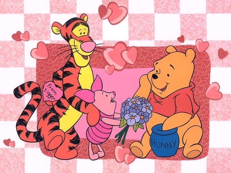 Winnie the Pooh Valentine Wallpaper - Winnie the Pooh Wallpaper (6267930) -