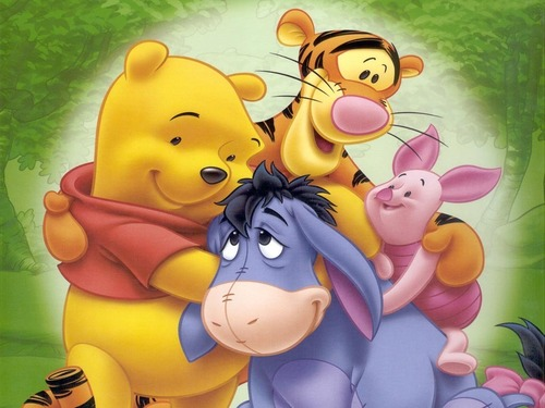 Winnie the Pooh wallpaper possibly containing anime entitled Winnie the Pooh Wallpaper