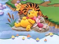 Winnie the Pooh দেওয়ালপত্র