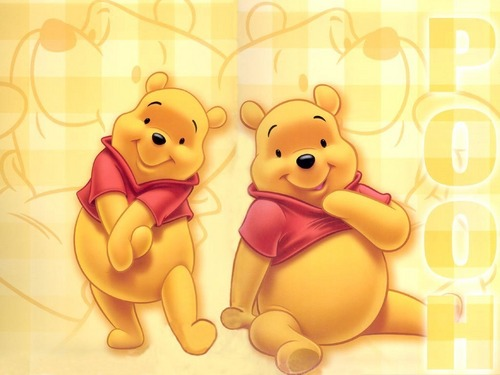 O Ursinho Puff wallpaper titled Winnie the Pooh wallpaper