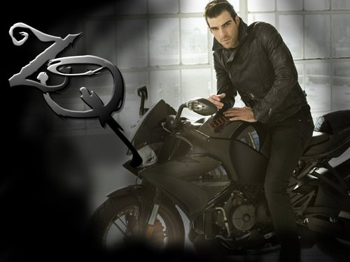 Zachary Quinto fondo de pantalla possibly with a motorcycle cop entitled ZQ