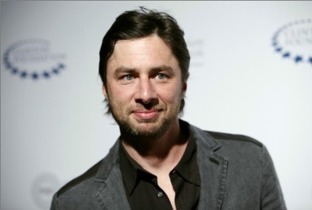 Zach Braff 바탕화면 containing a portrait entitled Zach at the William J. Clinton Foundation's Event, April 30th 09