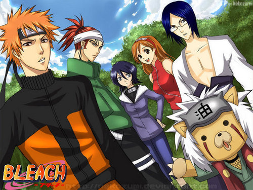 bleach vs. naruto