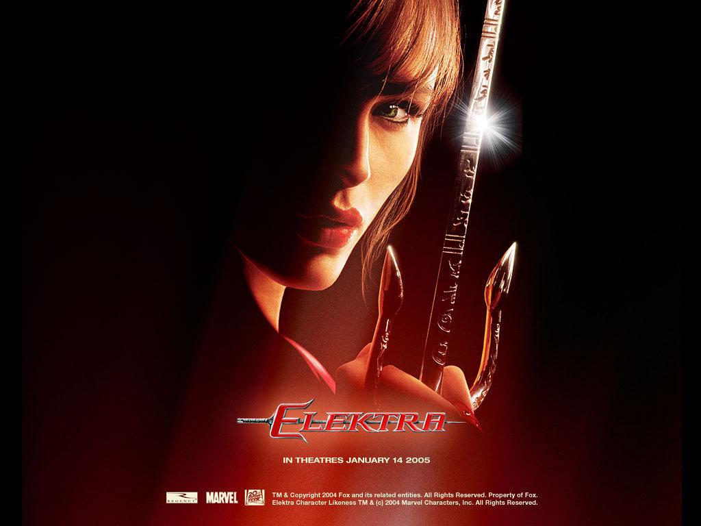 Elektra - Wallpaper