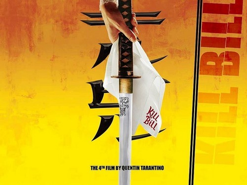 Kill Bill wallpaper containing a claymore, a dirk, and a falchion called kill bill