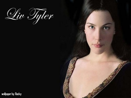 Liv Tyler wallpaper with a portrait titled liv tyler