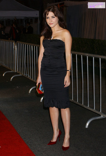"sophia arbusto, bush fondo de pantalla possibly containing bare legs, hosiery, and tights called ""Glory Road"" World Premiere 1-5-2006 [HQ]"