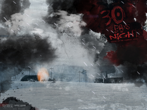 30 Days of Night kertas-kertas dinding