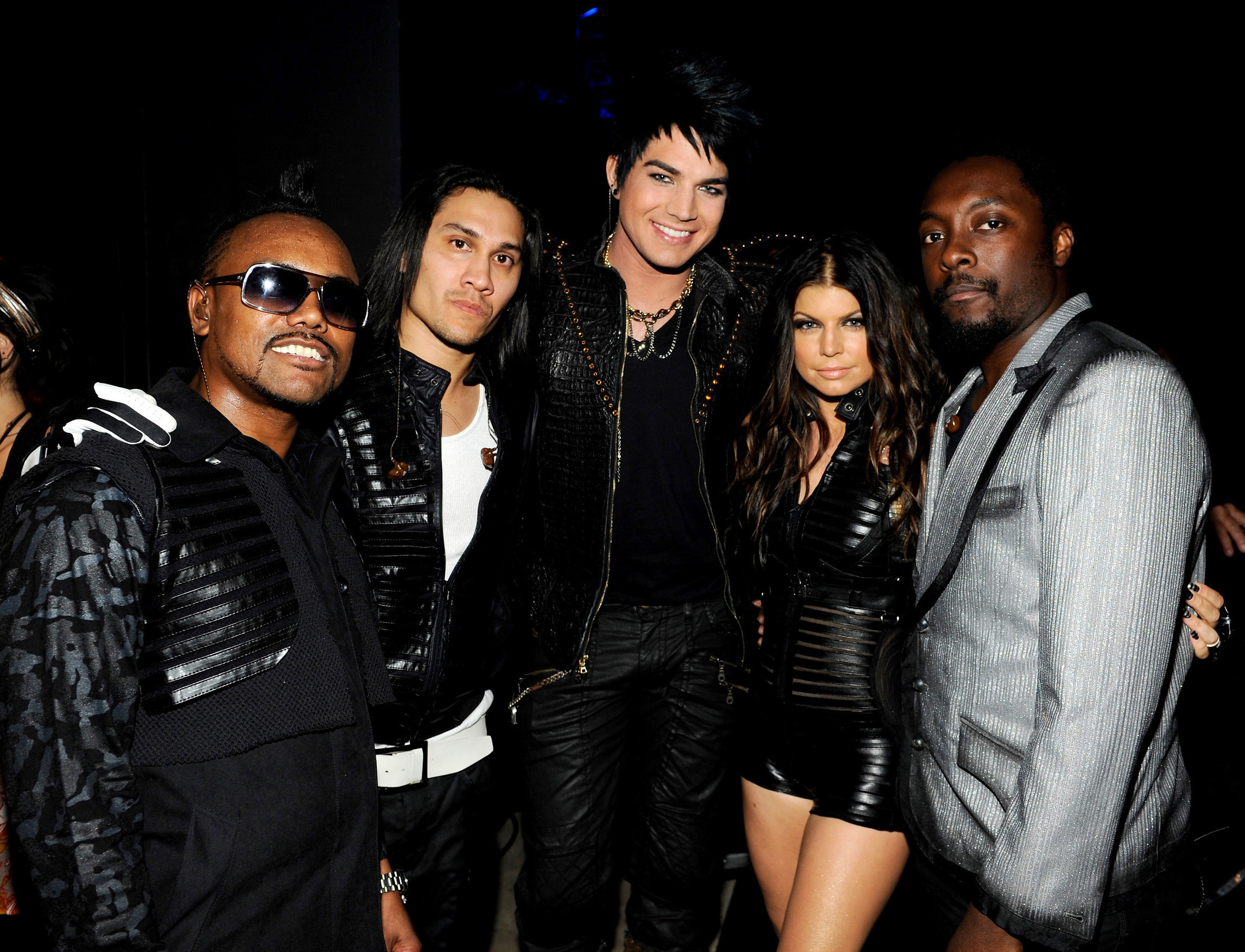 Adam, Fergie and The Black-Eyed Peas