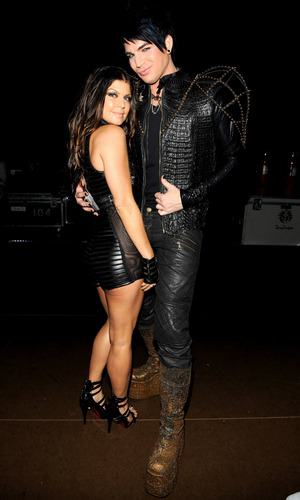 Adam Lambert and Fergie - american-idol Photo