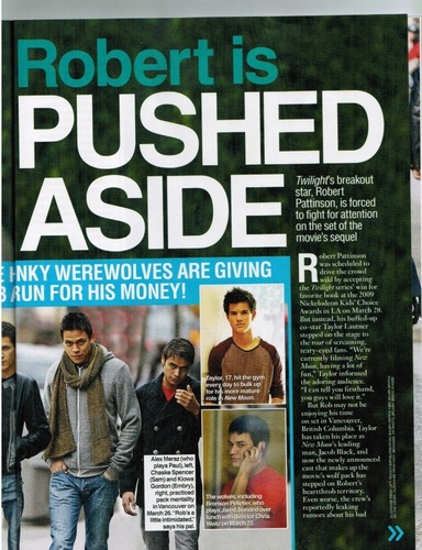 Alex in magazine appearances.