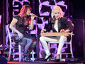 "Allison Iraheta ""Time After Time"" duet with Cyndi Lauper  - american-idol photo"