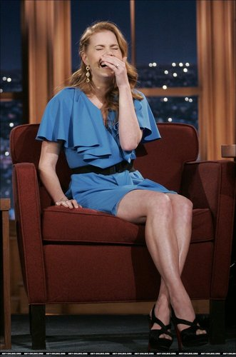 Amy on Craig Ferguson - amy-adams Photo