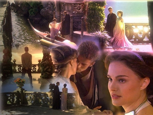 Anakin and Padme 바탕화면