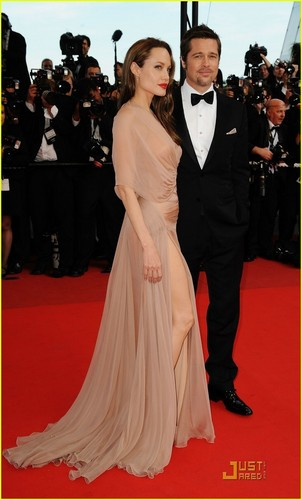 Angelina & Brad @ Cannes [HQ Pictures]