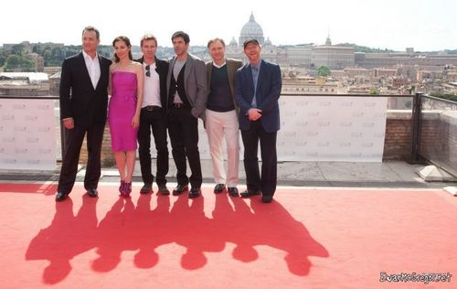 Angels & Demons - Rome photocall.