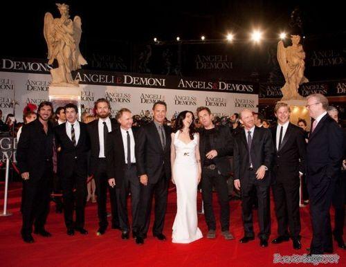 mga kerubin & Demons - Rome premiere.