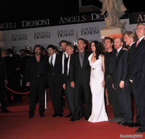 Angels & Demons - Rome premiere.