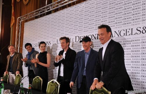 Angels & Demons - Rome press conference.