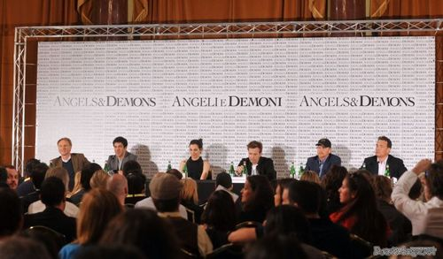 anges & Demons - Rome press conference.