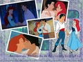 Ariel and Eric - disney-couples wallpaper