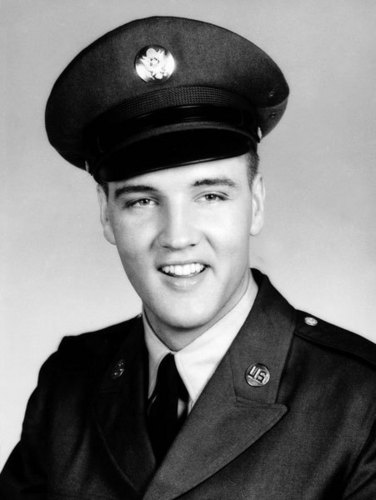 elvis presley fondo de pantalla with dress blues, uniforme, and a full dress uniform titled Army Pose
