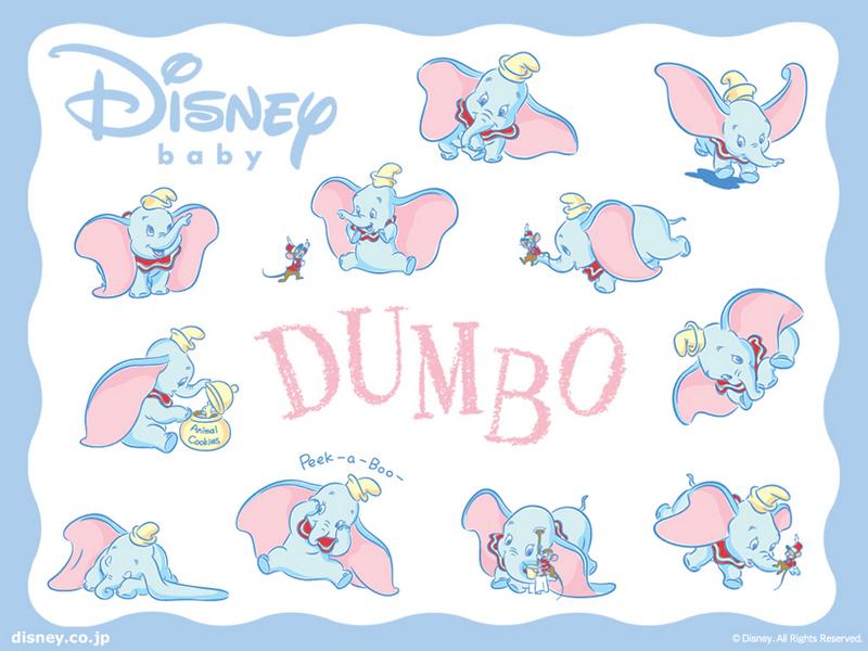 wallpaper baby. Baby Dumbo Wallpaper