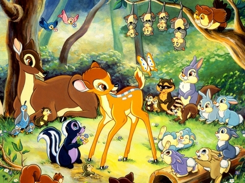 Bambi wallpaper probably with animê titled Bambi wallpaper