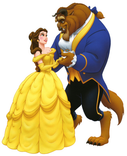 Beauty and the Beast wallpaper entitled Beauty and the Beast