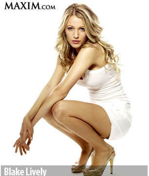 Blake Lively wallpaper containing a portrait entitled Blake in Maxim