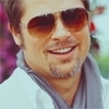 Brad Pitt photo with sunglasses entitled Brad