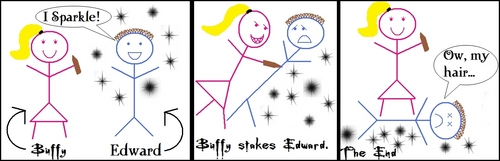 Buffy Stakes Edward