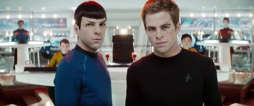Chris & Zach - Kirk & Spock