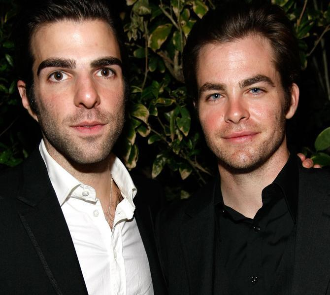 Chris & Zach - Chris Pine & Zachary Quinto Photo (6394408) - Fanpop