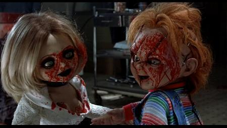 Chucky wallpaper titled Chucky  and Tiffany
