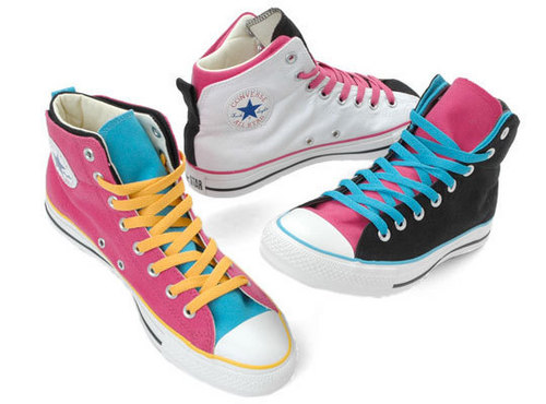 Colourful converse's